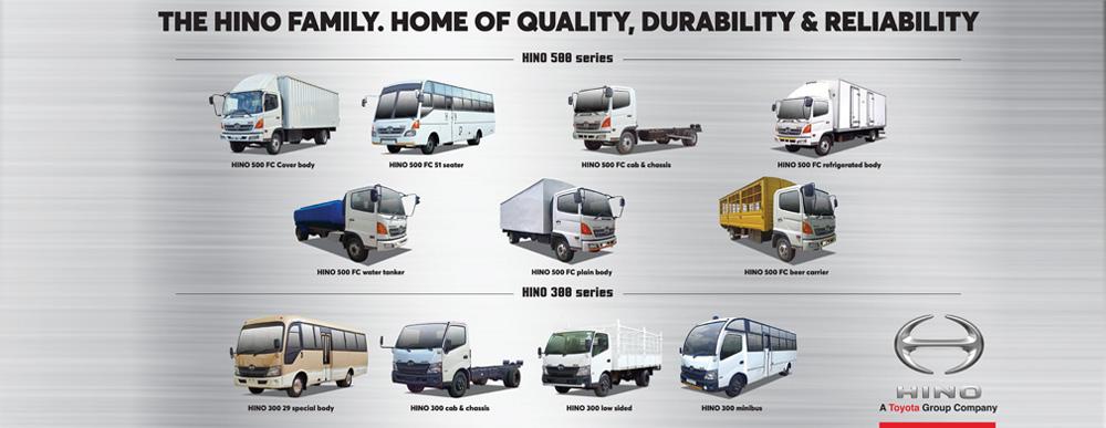 Hino Vehicles